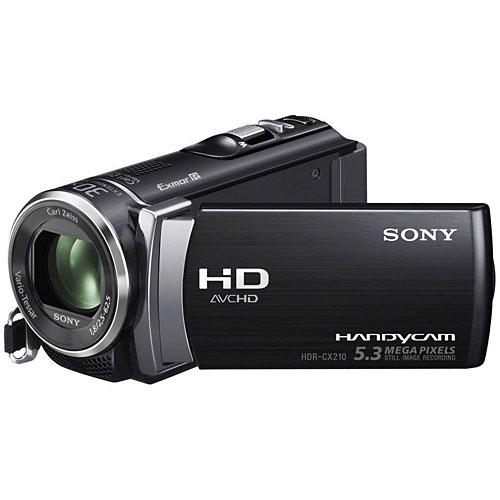 Alquiler Cámaras de Video Full HD Sony CX210 Pro Rental Buenos Aires Argentina