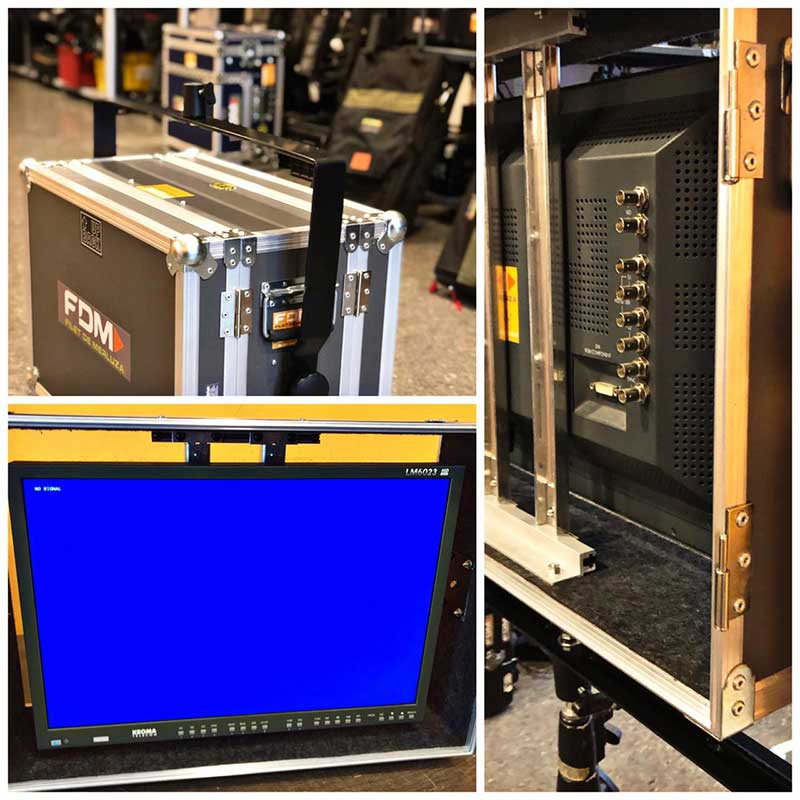Alquiler Equipos de Video Monitores Kroma LM6023A11 FDM Rental Buenos Aires Argentina