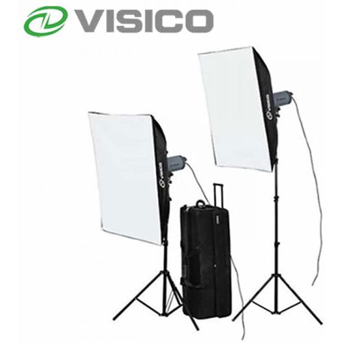 Alquiler Flashes De Estudio Visico VC 600HH Softbox kit Rental Buenos Aires Argentina