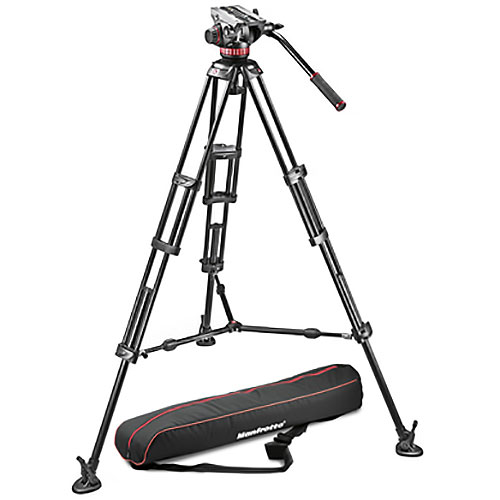 Alquiler Grips Trípodes Manfrotto 502-502HDV FDM Rental Buenos Aires Argentina