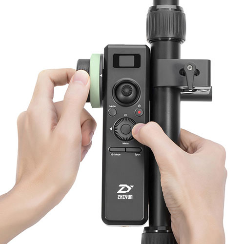 Alquiler Grips Gimbals Zhiyun-Tech Remote Control for Crane 2 Rental Buenos Aires Argentina