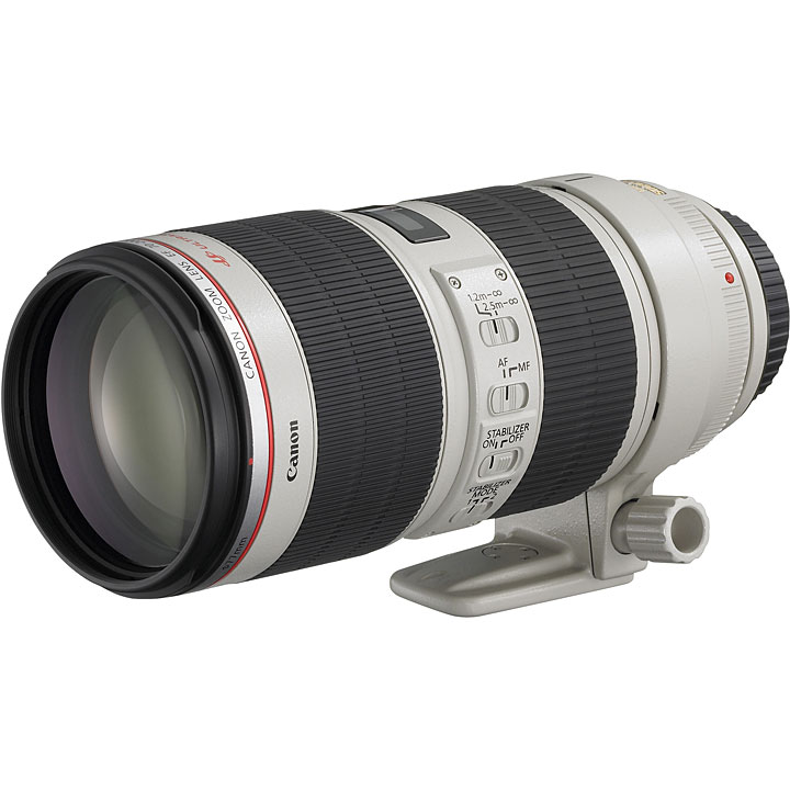 Alquiler Lentes Canon EF Canon Tele Zoom EF 70-200mm f2.8L IS II USM FDM Rental Buenos Aires Argentina